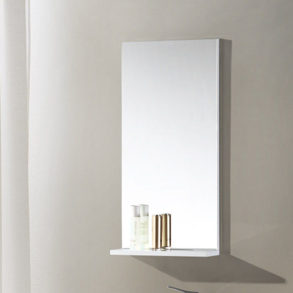 400x800mm Modern Bathroom Mirror With Shelf Rectangular Wall Mounted Ebay