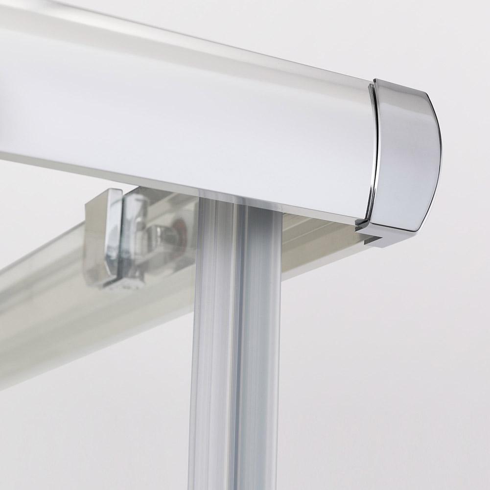 duschkabine 120x90cm eckeinstieg doppel schiebet r echtglas duschwand ebay. Black Bedroom Furniture Sets. Home Design Ideas