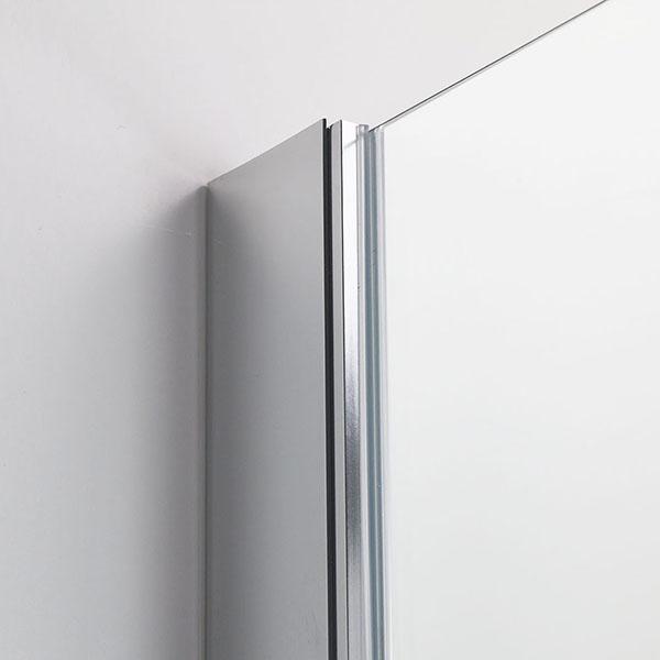 duschkabine eckeinstieg ohne rahmen duschwand mit schwingt r badezimmer 86x86 ebay. Black Bedroom Furniture Sets. Home Design Ideas