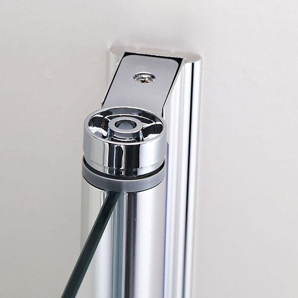 Dusche Nischent?r Rahmenlos : Glass Shower Door Pivot Hinges