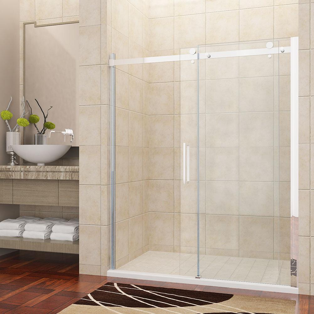 Luxus duschabtrennung duschkabine duscht r 8mm glas for Luxus shower doors