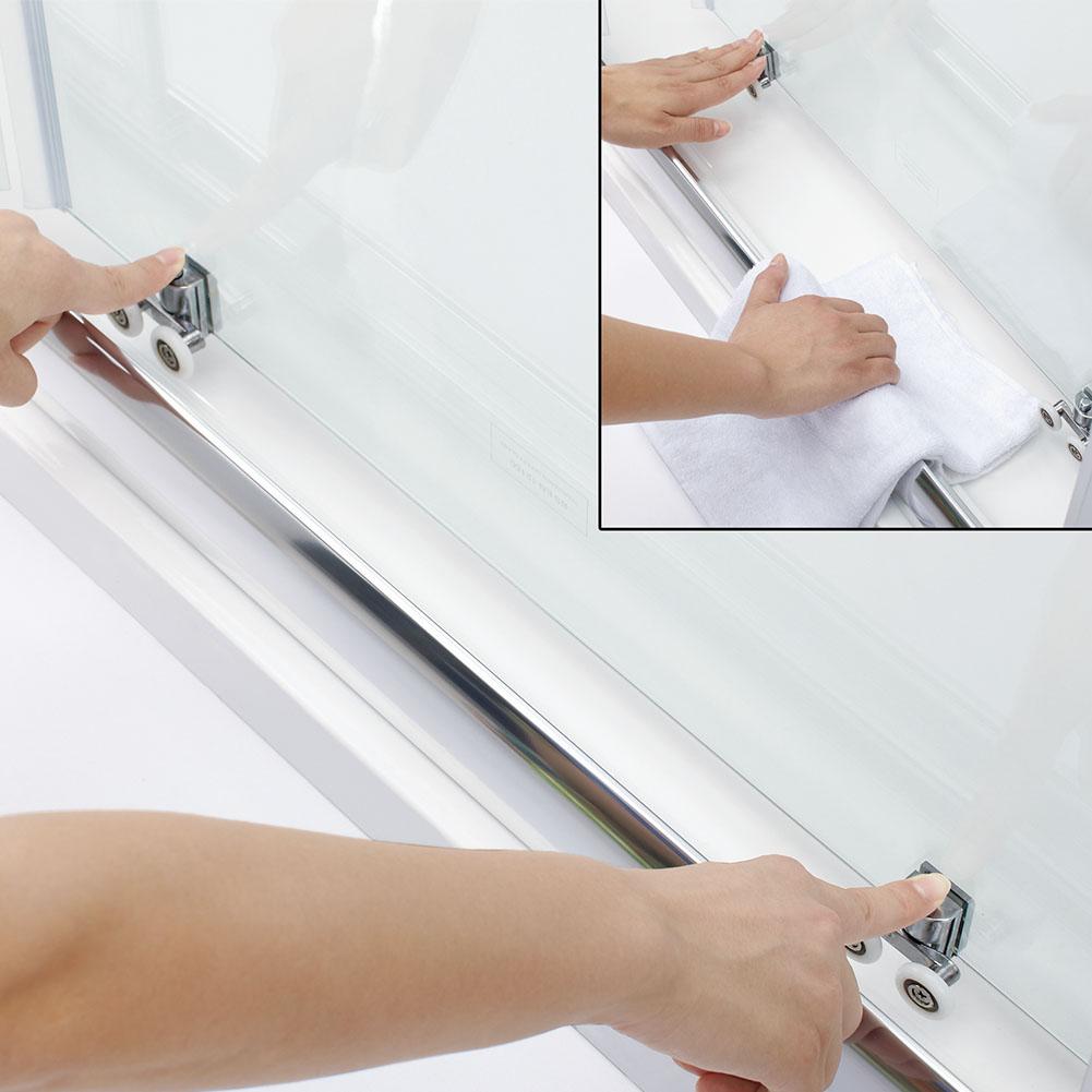duschkabine duschabtrennung schiebet r duscht r duschwand seitenwand 120cm ebay. Black Bedroom Furniture Sets. Home Design Ideas