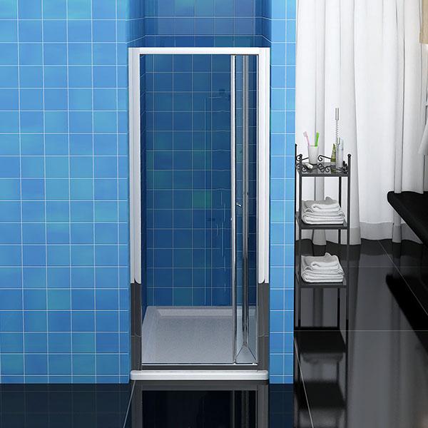 Dusche Nischent?r Faltt?r : Duschwand Walk in Dusche Faltt?r Nischent?r Echtglas eBay