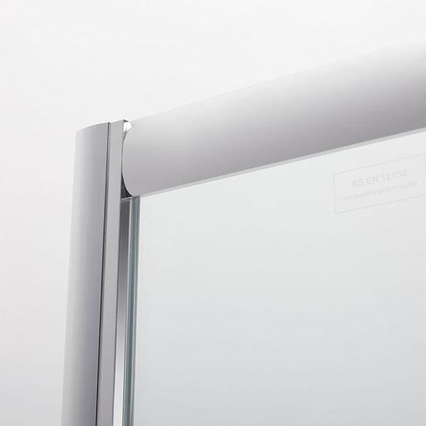viertelkreis runddusche doppel duscht r 80 90 mit duschtasse ebay. Black Bedroom Furniture Sets. Home Design Ideas