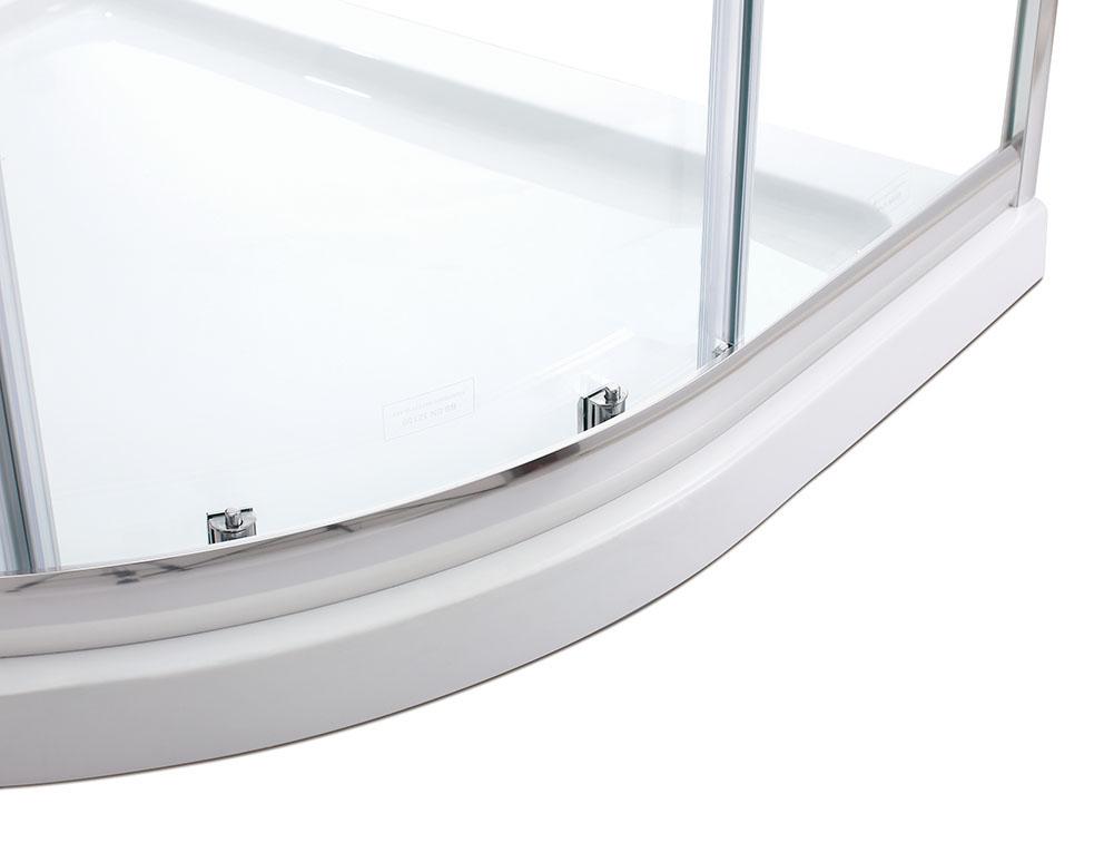 80x80 90x90cm duschkabine viertelkreis runddusch nano schiebet r dusche duscht r ebay. Black Bedroom Furniture Sets. Home Design Ideas