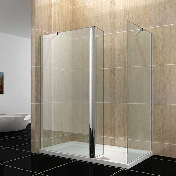 80 70cm walk in duschkabine 8mm sicherheitsglas nano. Black Bedroom Furniture Sets. Home Design Ideas