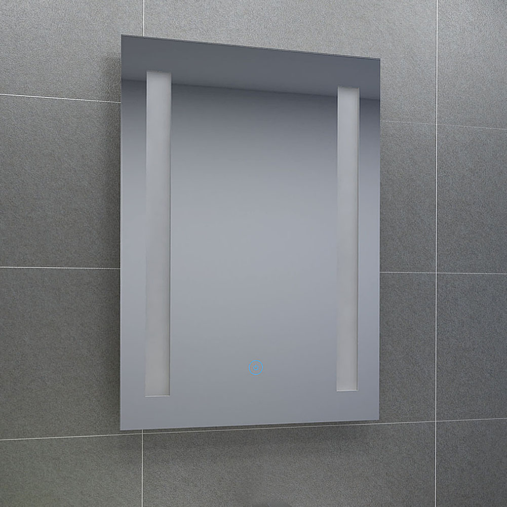 730x400mm Bathroom Mirror Cabinet Shelf Unit Sliding