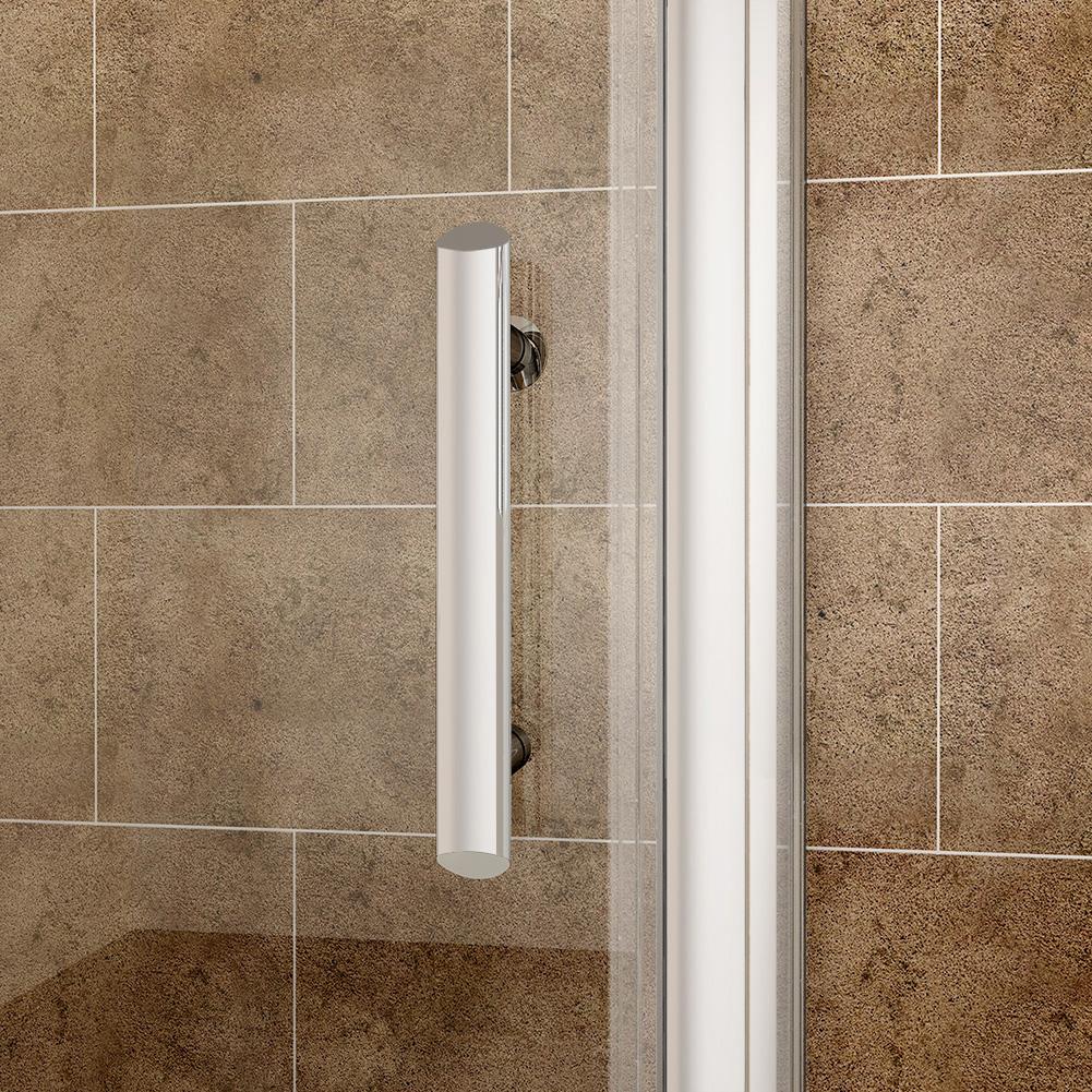Frameless bifold shower door enclosure hinge walkin glass for 1000 bifold shower door