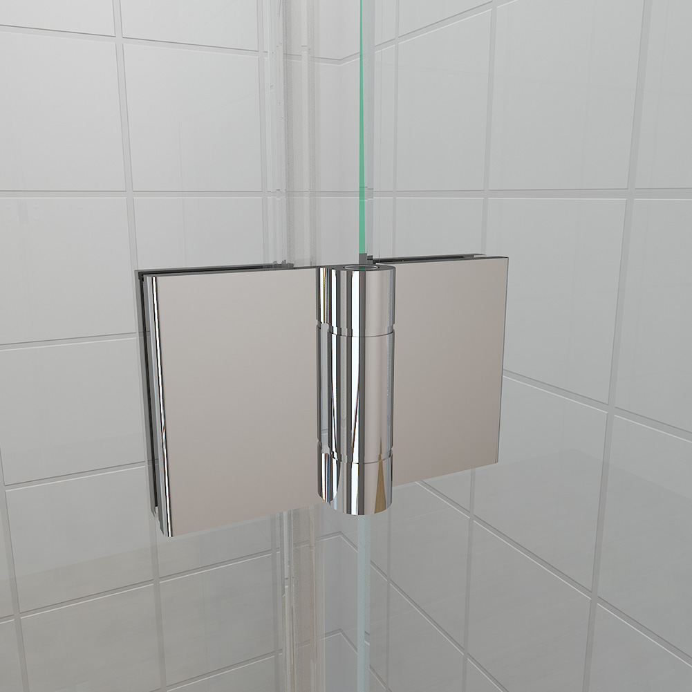 Frameless bi fold shower door hinge shower enclosure 700 for 1200 shower door hinged