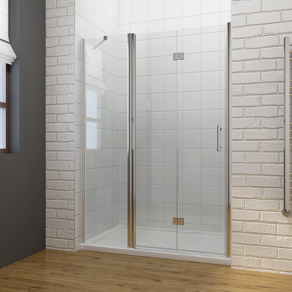 Frameless bi fold shower door hinge shower enclosure 700 for 1000mm frameless shower door