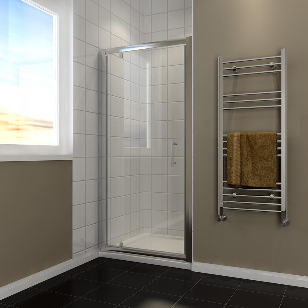 Pivot shower door enclosure walk in shower cubicle 700 for 1200 pivot shower door