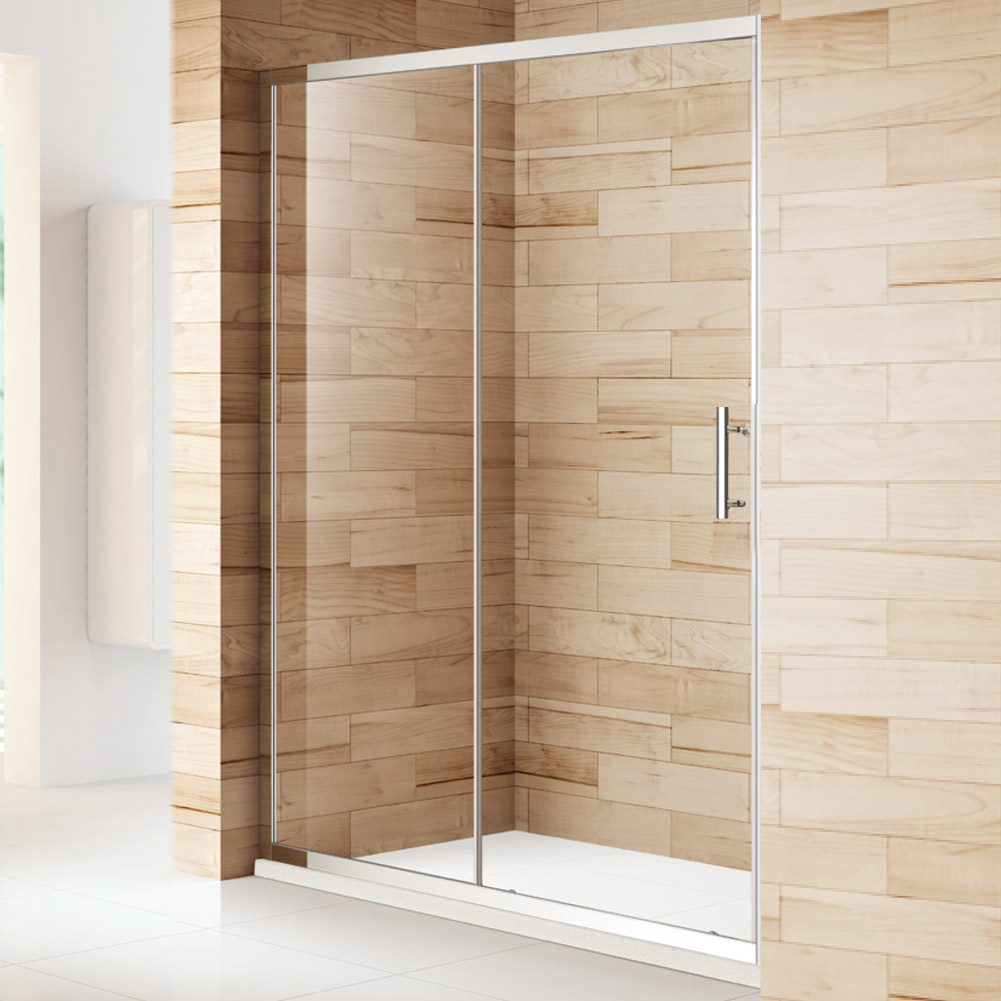 Shower door bi fold pivot sliding quadrant shower for 1300 mm sliding shower door