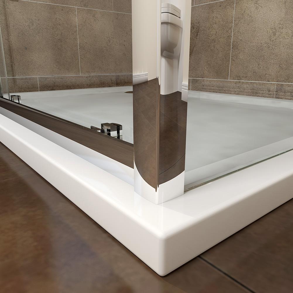 Sliding shower door enclosure walk in shower cubicle 8mm for 1700 high shower door