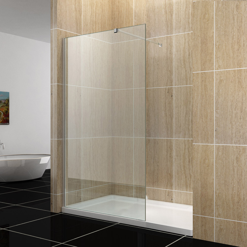 how to clean glass shower screen
