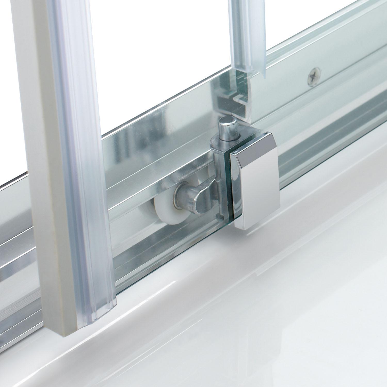 Bifold pivot hinge sliding shower door walk in wet room for Sliding door for main door