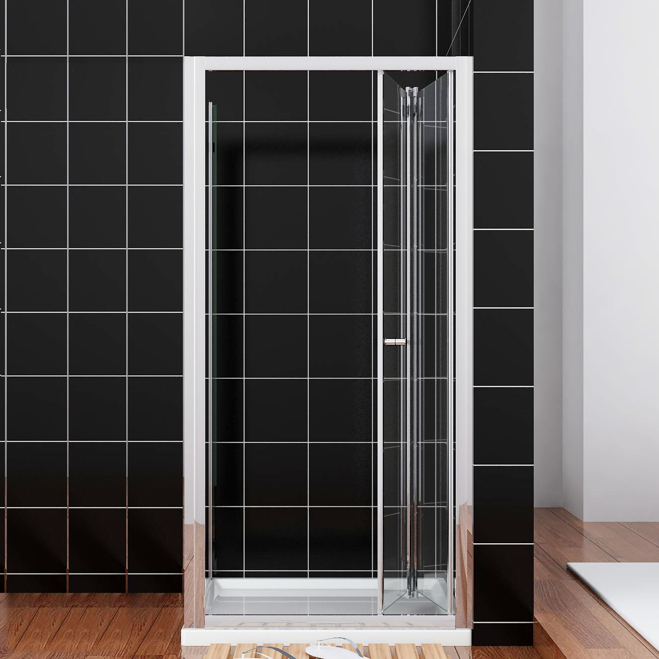 Mini Hebeanlage Dusche : Glass Shower Doors