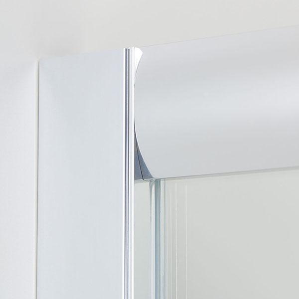 120cm duschkabine duschabtrennung nischent r schiebet r duscht r echtglas dusche ebay. Black Bedroom Furniture Sets. Home Design Ideas