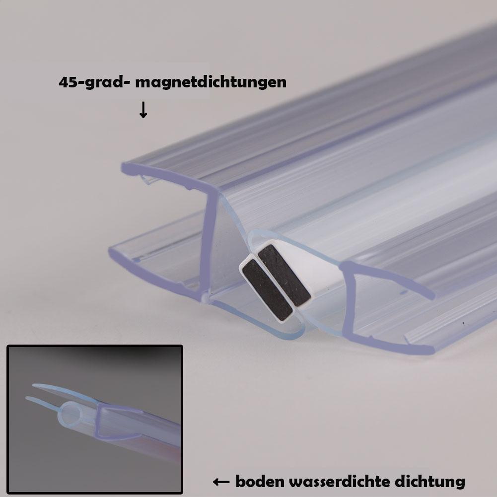 90x185 cm duschabtrennung duschwand nischent r dusche schwingt r echtglas ebay. Black Bedroom Furniture Sets. Home Design Ideas