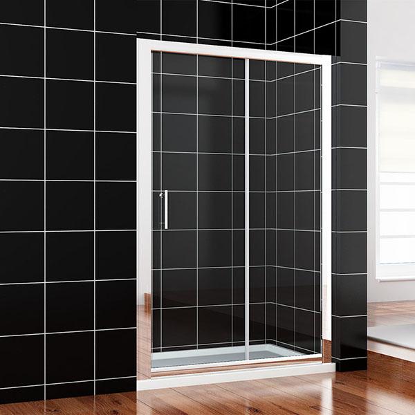 duschkabine duschabtrennung schiebet r duscht r dusche 100 170cm mit duschtasse ebay. Black Bedroom Furniture Sets. Home Design Ideas