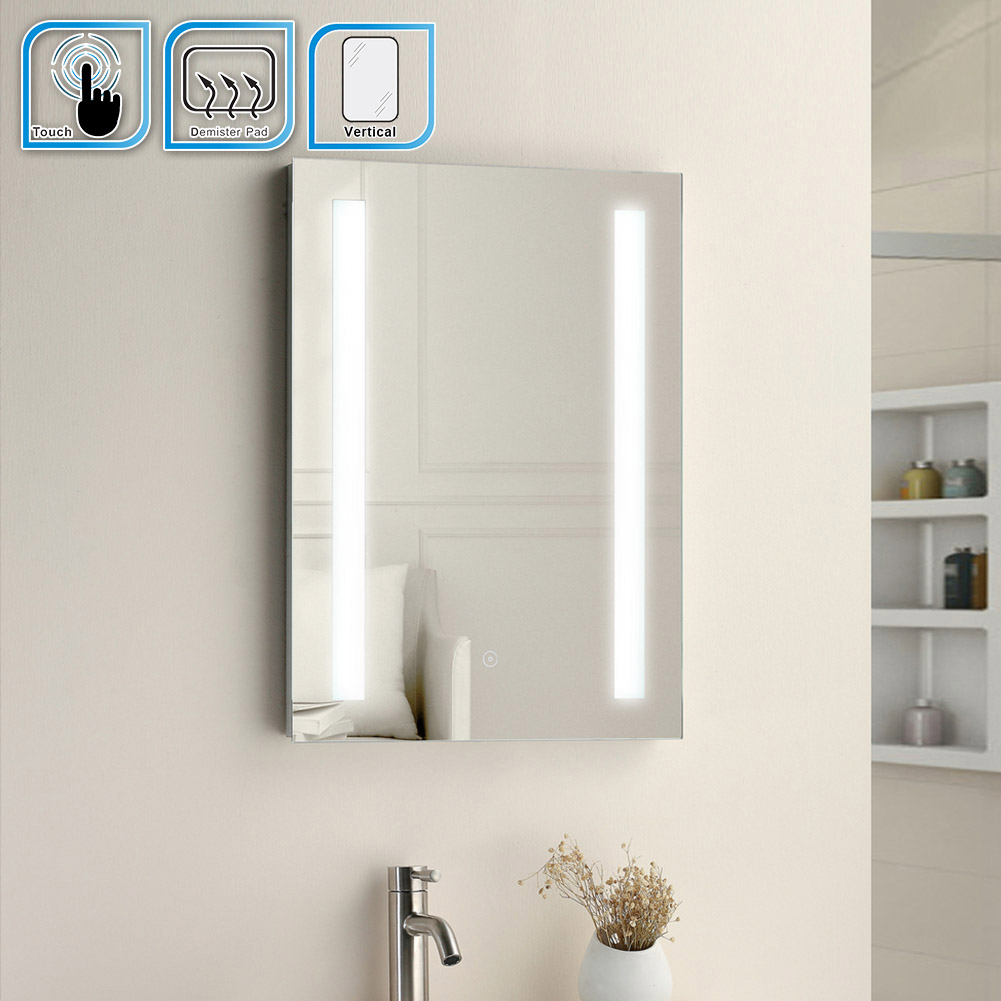 led illuminated bathroom mirrors with shaver socket