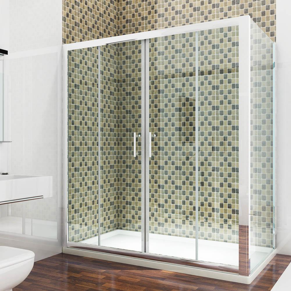 1500mm double sliding shower enclosure door walk in for 1500 shower door