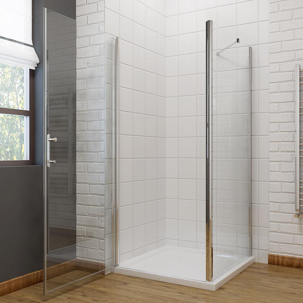 Walk in bifold pivot hinge sliding shower enclosures glass for 1000mm pivot shower door