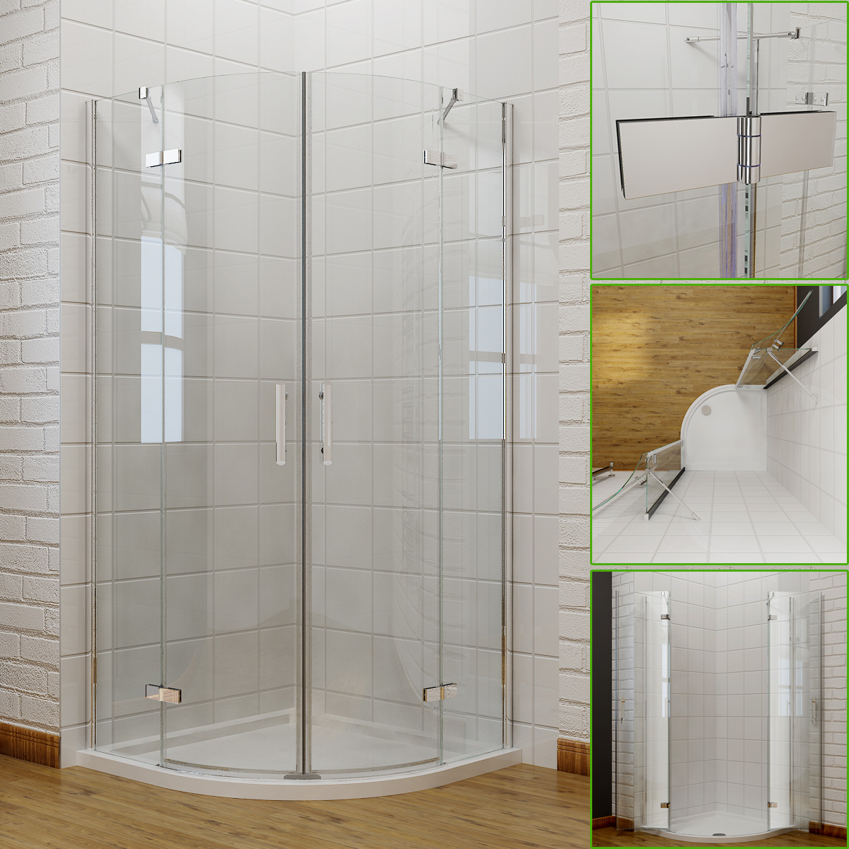 Shower Enclosure Kits 100 Outdoor