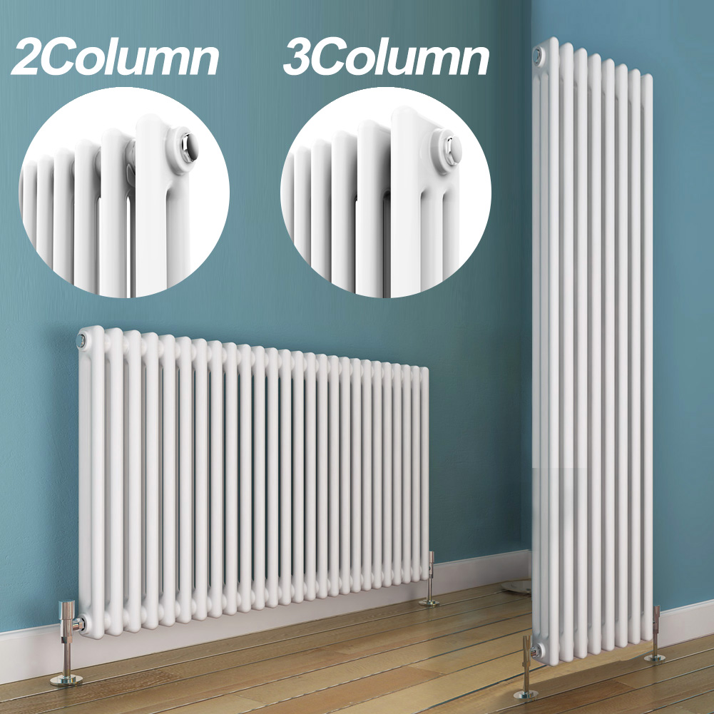 Traditional Double Triple Column Radiators Cast Iron Style