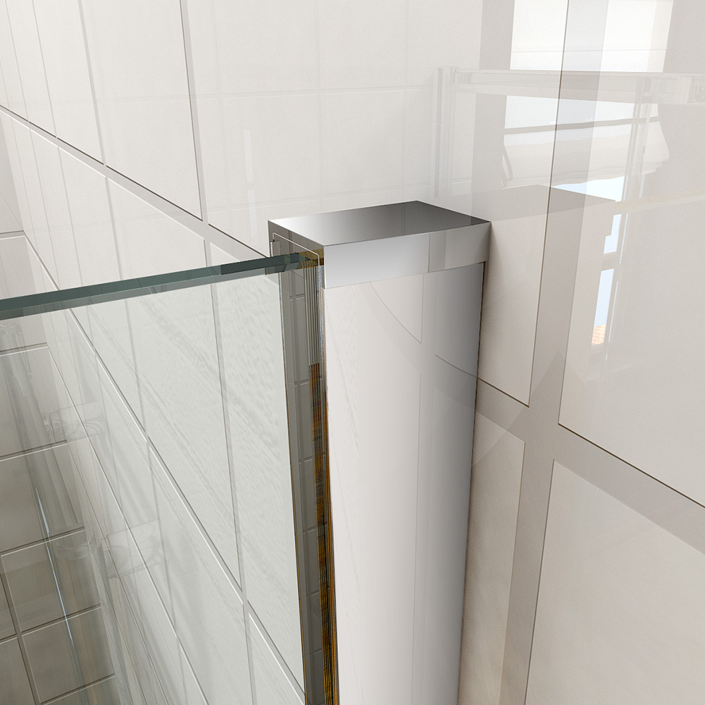 1700mm single sliding shower enclosure door cubicle 8mm for How to clean bathroom sliding glass doors