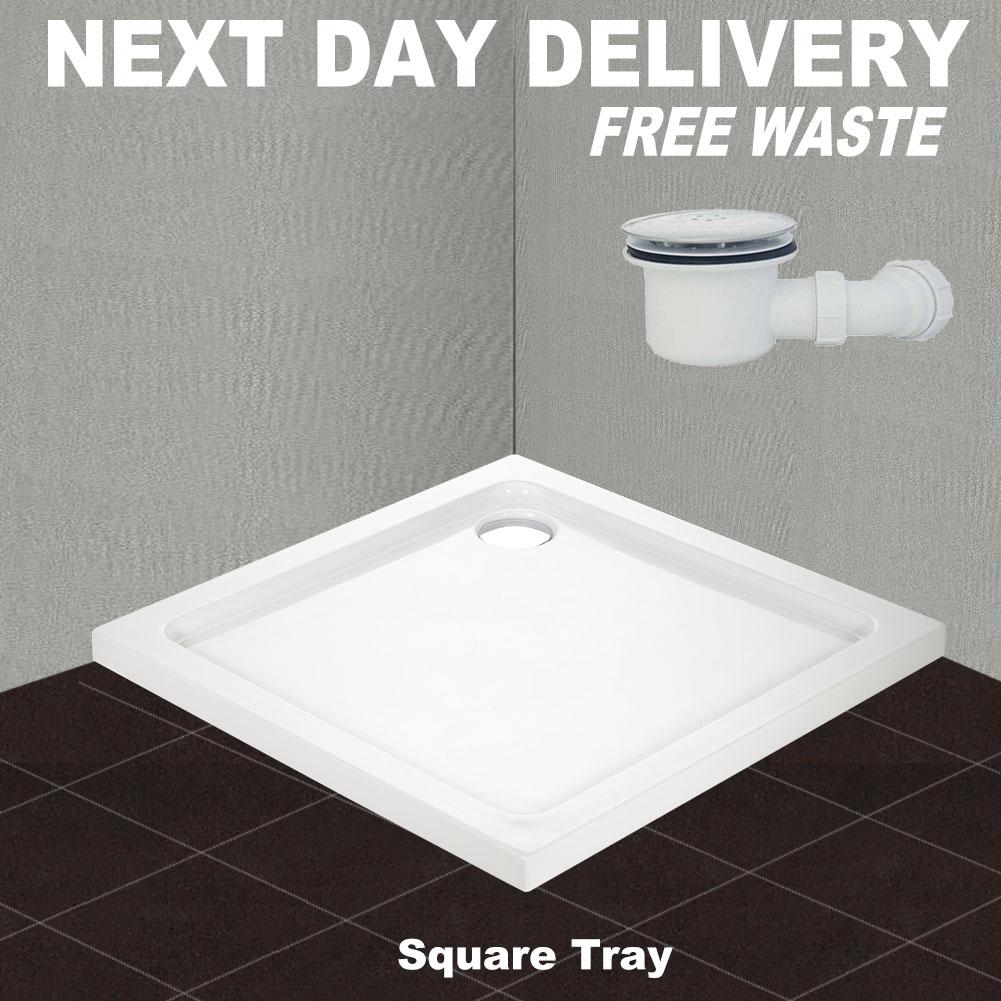 Walk In Shower Enclosure and Tray Bi Fold/Hinge Pivot/Sliding Screen ...