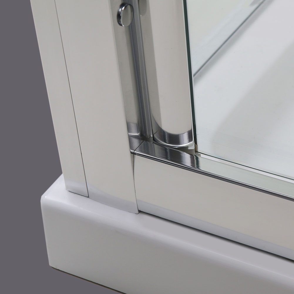 High shower doors bi fold pivot sliding double sliding for 1300 mm sliding shower door